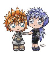 Ventus and Ignis by sakkysa