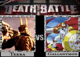 Death Battle- Terra vs Gallantmon by Animators-Voice