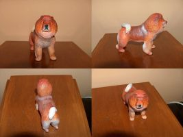 Super Sculpey chow-chow by blinksda92