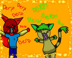 Derping by 0LightsOut1