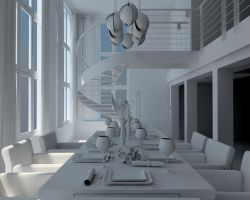 Dining-room by masin