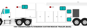 Freightliner FL70 Marion Rescue Trailer base by MisterPSYCHOPATH3001