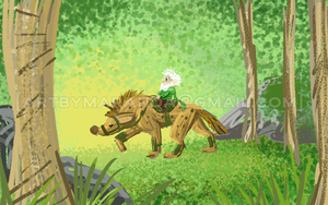Pappy and Buttercup Concept by Coloran