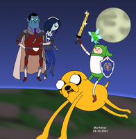 The legend of Adventure Time by Mortdres