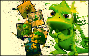 Tangled - Pascal by MaybeTomorrow07