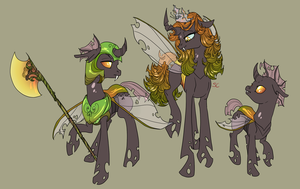 Changelings by SourSketches