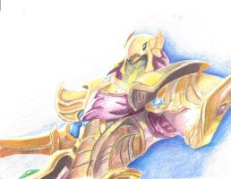 Azir, the Emperor of the Sands by PyeImpact97