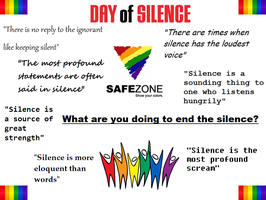 Day Of Silence by newnoakua