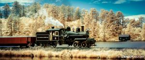 OCSR Train in Infrared by vazagothic