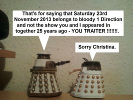 Doctor Who - The Traitor by DoctorWhoOne