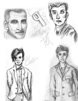 Doctor Who Sketch Dump by StCoraline