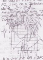 Me Sketching Zeggy in My Mathbook! by niasapphire