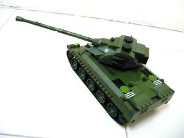 French WWII Tank Lorraine 40t 7 by SOS101