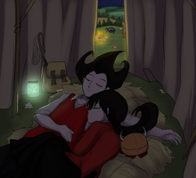 Arttrade - Quiet night by keterok