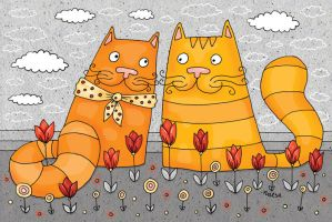 cats by Norvaal