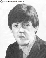 Paul McCartney, 1964 by MonkeesFan