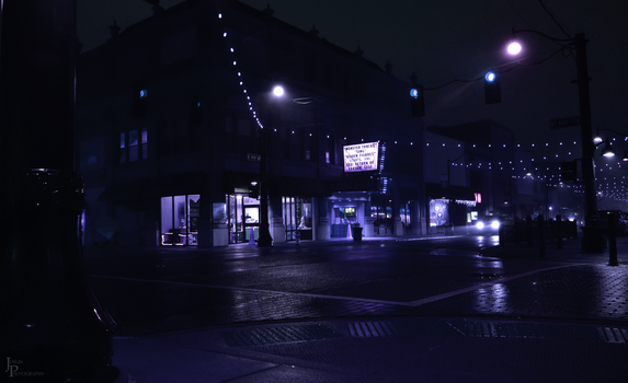 Downtown Nights by Printed-Shadows