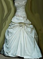 Brides Dress by PrincessInHeaven