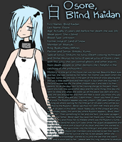 Osore, Blind Kaidan - Profile by sasoriikitty