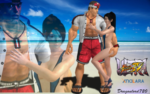Ryu Vacation xps by DragonLord720