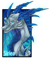 .:Commission:..:Siriea:. by Dark-Spine-Dragon