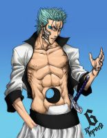 Grimmjow - BLEACH Series by ToPpeRa-TPR