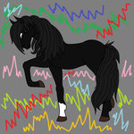 Black Beauty Unleashed by Zombiehorse2