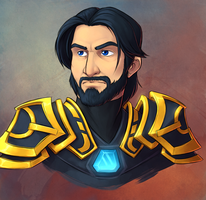 Faces of Wildstar - Porthos by evion