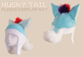 Husky Tail Hat by cuddlecraft