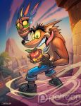 Crash bandicoot by el-grimlock