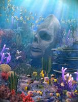 Secrets of the Reefs by OrestesGraphics