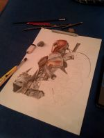 Deathstroke W.I.P by Frontside92