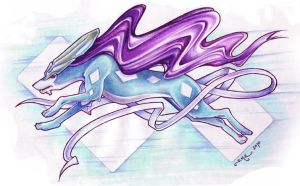Suicune by tavington
