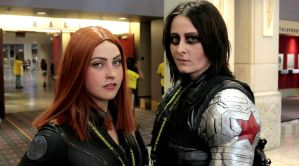 Black Widow and The Winter Soldier by LaneDevlin