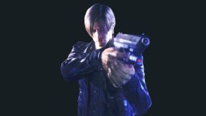 Leon S Kennedy - Mercenaries screen by Thanhthao90