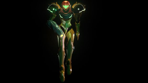 Samus Aran by AthonyTerribile
