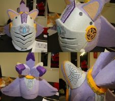 SATBK - Sir Percival Cosplay head FIN by Mew-Mew-Rocky