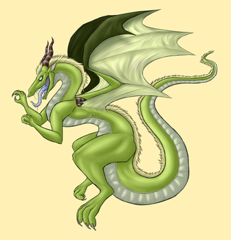 Mean and Green by Earwiggy