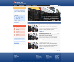 Adelaide Metro redesign by slipperydonkey