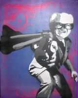 Dirty Harry Caray by psychofranky