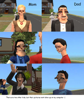The Sims 2 - The WTF Family by TaiviaePrincess