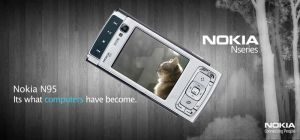 Nokia N95 - Billboard Ad. by Cj-Caty