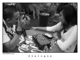 dialogue by tegar26
