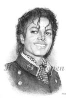 Michael Jackson '84 portrait by hellbull