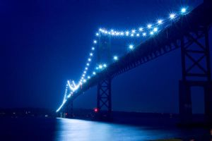 Mt. Hope Bridge, horizontal by Ceardach
