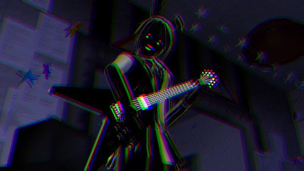 [MMD] The Shadow Guitar by ZexionStrife
