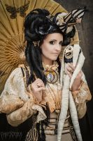 Me at the WGT 2015  ... Steampunk victorian by S-T-A-R-gazer