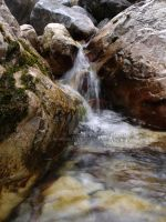 Small Waterfall by HerrHaller