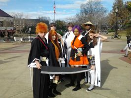 bleach characters picture kamicon 2012 by Lady-Seimeii