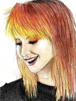 Hayley Williams by Michiku-chan